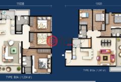 马来西亚吉隆坡的房产,湖边公寓,编号43221788