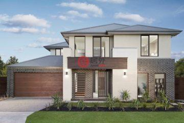居外网在售澳大利亚4卧3卫新房的新建房产总占地463平方米AUD 780,000起