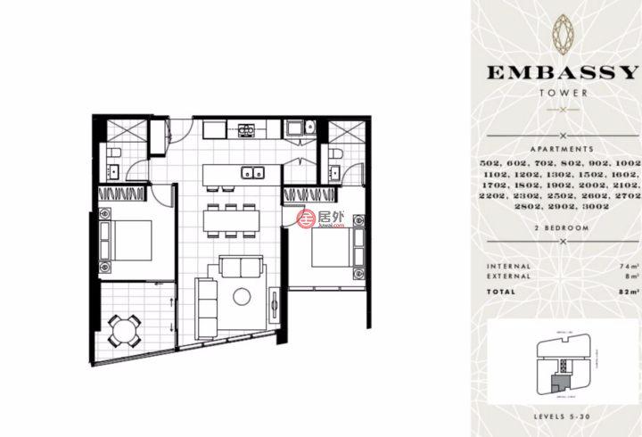 澳大利亚新南威尔士州悉尼的新建房产,1 Marshall Ave.,编号34060610