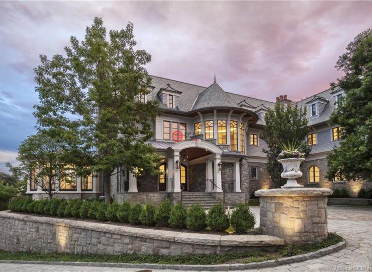 美国康涅狄格格林威治6卧9卫的房产依云宁波郡291平别墅图片