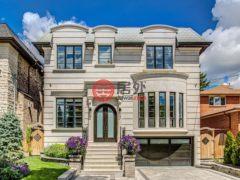 居外网在售加拿大多伦多4卧7卫的房产总占地583平方米CAD 4,495,000