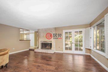 居外网在售美国4卧2卫最近整修过的房产总占地235平方米USD 850,000