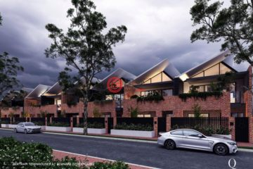 居外網在售澳大利亞3臥3衛特別設計建筑的房產總占地170平方米AUD 1,015,000