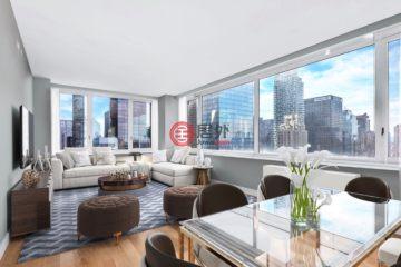 美国房产房价_纽约州房产房价_曼哈顿房产房价_居外网在售美国曼哈顿2卧2卫最近整修过的房产总占地102平方米USD 2,250,000