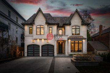 居外网在售加拿大多伦多5卧7卫的房产总占地483平方米CAD 5,988,800