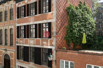 居外网在售比利时9卧8卫历史建筑改造的房产总占地258平方米EUR 3,940,000