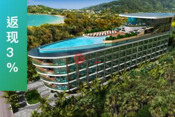 居外网在售泰国1卧1卫新开发的房产总占地36平方米THB 3,996,000