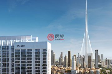 居外网在售阿联酋迪拜1卧1卫的房产总占地110平方米AED 1,020,000