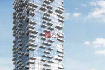 居外网在售加拿大多伦多1卧1卫的房产总占地56平方米CAD 377,800