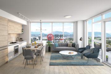 加拿大房產房價_不列顛哥倫比亞省房產房價_溫哥華房產房價_居外網在售加拿大溫哥華1臥1衛新房的房產總占地67平方米CAD 475,900