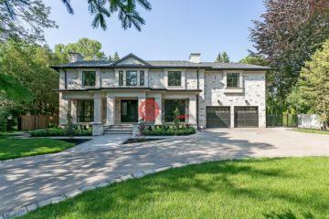 居外网在售加拿大5卧8卫新房的房产总占地2536平方米CAD 6,288,000