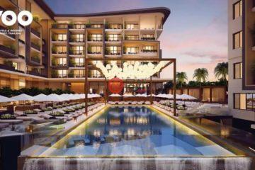 居外网在售泰国1卧1卫新房的房产总占地2平方米USD 160,000