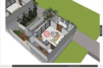 居外网在售印尼1卧1卫新开发的房产总占地100平方米IDR 2,200,000,000