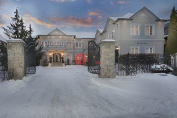 居外网在售加拿大8卧8卫特别设计建筑的房产总占地9平方米CAD 6,888,000