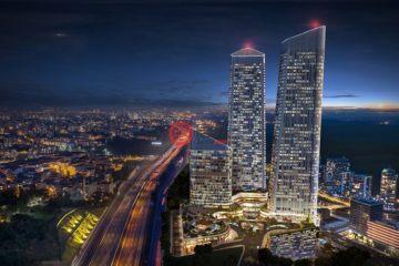 居外网在售土耳其Sarıyer1卧1卫的房产总占地100平方米TRY 1,100,000