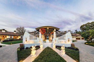 居外网在售美国洛斯阿尔托斯山5卧12卫的房产总占地32496平方米USD 39,998,000