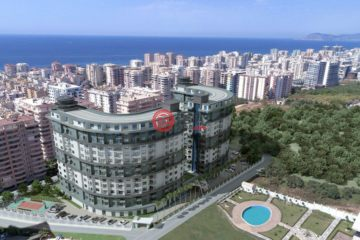 居外网在售土耳其1卧1卫新开发的房产总占地10000平方米EUR 51,000