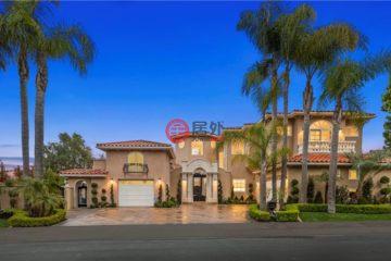 居外网在售美国5卧6卫曾经整修过的房产总占地1464平方米USD 3,150,000