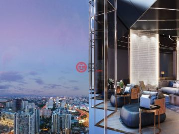居外网在售泰国1卧1卫新开发的新建房产总占地25平方米THB 3,140,000起