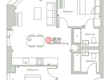 英国英格兰的新建房产,The corner of Gould Street and Dantzic Street,编号58729638