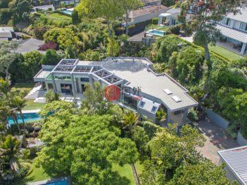 居外网在售新西兰Auckland4卧4卫的房产总占地2718平方米