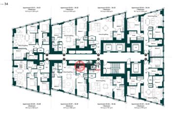 英国英格兰伦敦的公寓,Nine Elms Ln,编号60546099