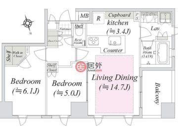 日本TokyoChuo的房产,编号48232223
