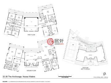 澳大利亚昆士兰阳光海岸的房产,32-36 The Anchorage Noosa Waters,编号51237775