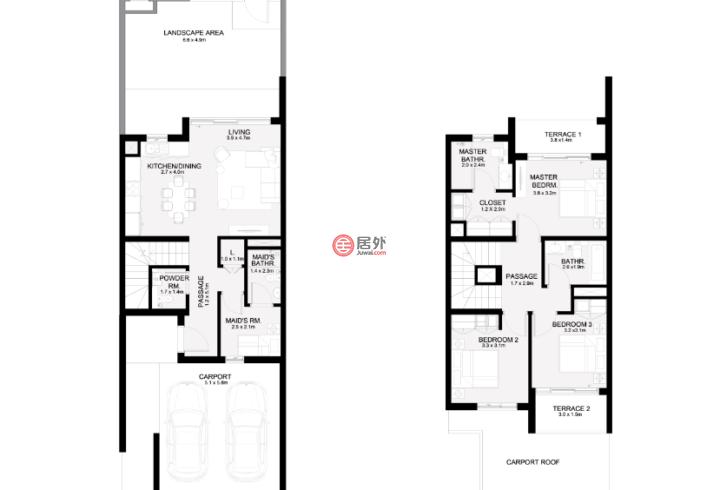 阿联酋迪拜迪拜的房产,RUBA,编号51004392