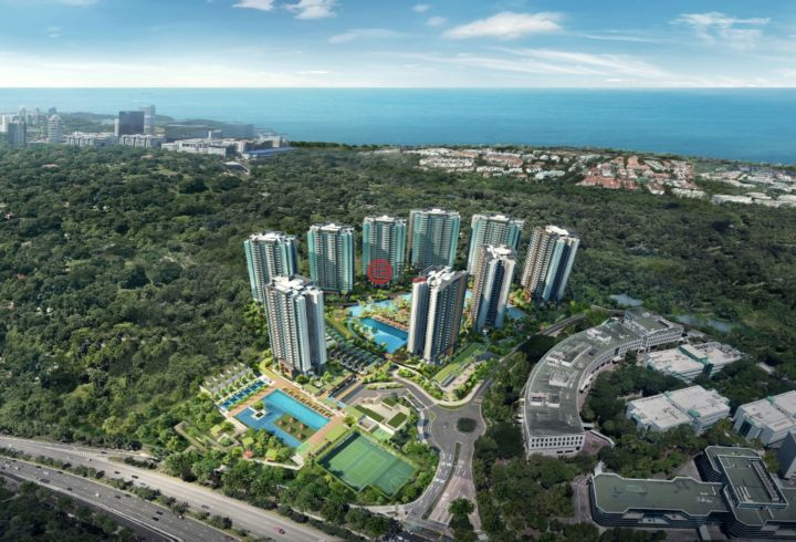 新加坡西北省新加坡的房产,鑫悦府,编号57263368