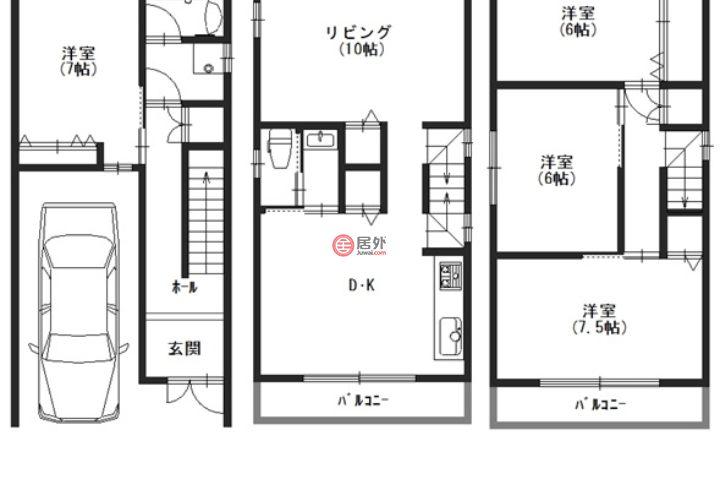 日本大阪府大阪市的房产,住吉区墨江2丁目 ,编号56024698