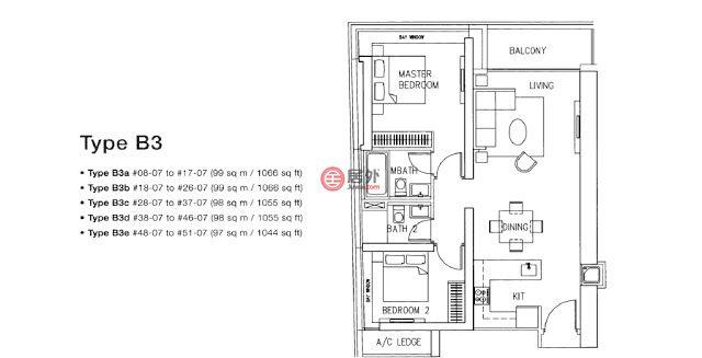 新加坡SingaporeSingapore的公寓,18 Marina Blvd,编号59840769
