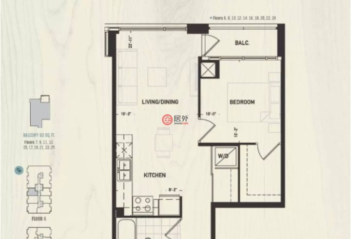 加拿大安大略省多伦多的房产,278 Dundas Street East,编号33845568