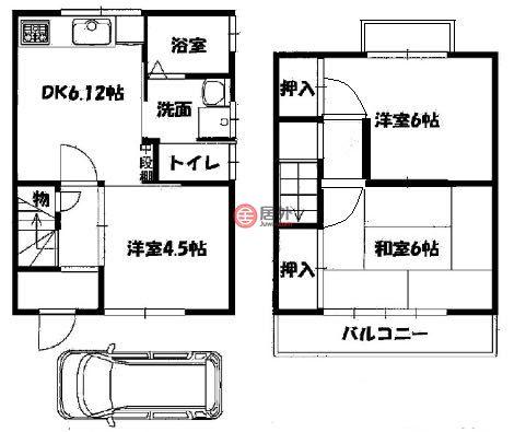 日本Kyoto Prefecture京都市的房产,山科区大塚中溝54-20,编号56137705