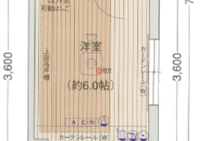 日本JapanOsaka的房产,豊崎1丁目,编号51763618