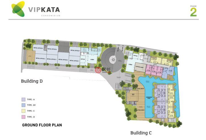 泰国普吉府普吉的商业地产,Kata,编号50925248