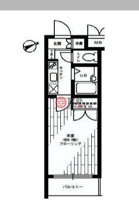 日本Tokyo Prefecture东京的公寓,高輪2丁目3-17,编号59959411