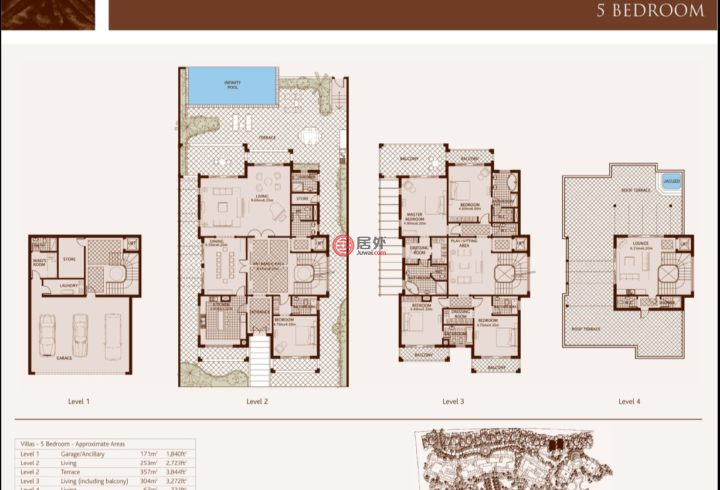 阿联酋迪拜迪拜的房产,迪拜棕榈岛 Palm Jumeirah,编号57848980