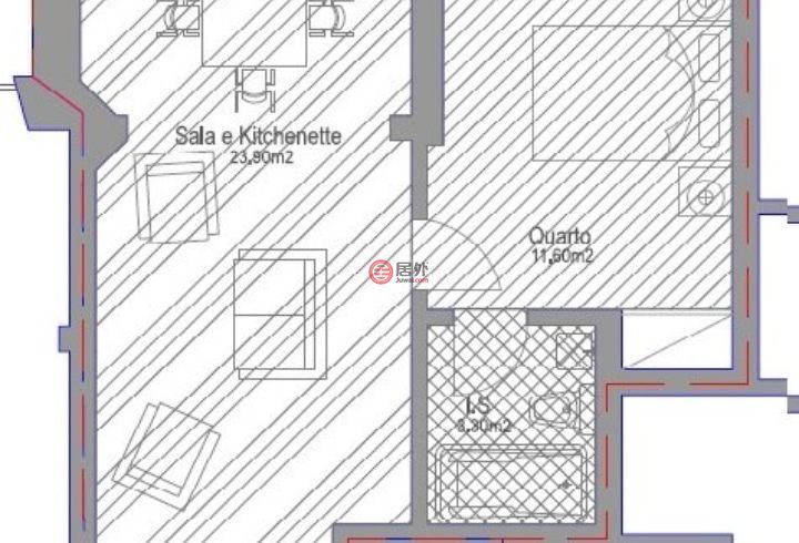 葡萄牙Distrito de LisboaLisboa的房产,Rua Joaquim Ereira, Vila de Cascais,编号51459489