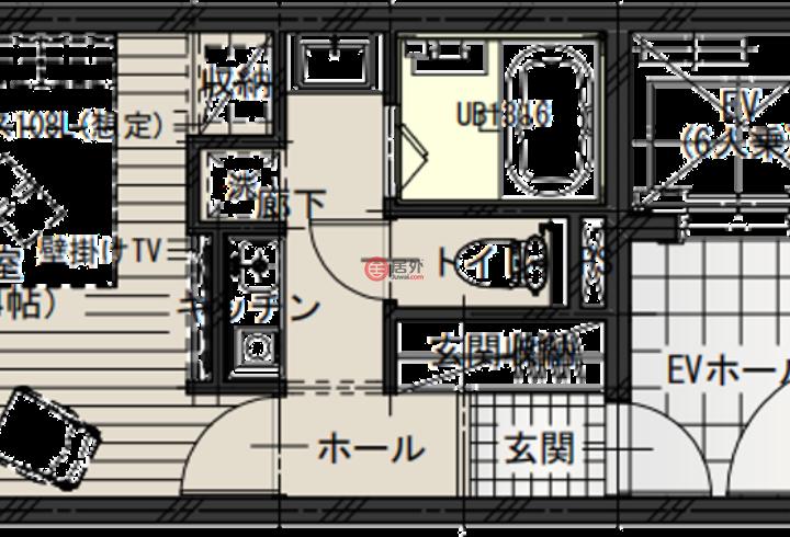 日本Tōkyō-toTaitō-ku的房产,重磅【天空宿】轻酒店项目稀缺公寓型民宿,编号51695152