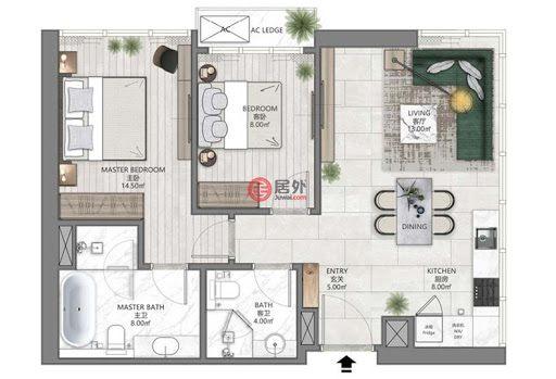 马来西亚Kuala Lumpur吉隆坡的房产,Kuala Lumpur,编号54115826