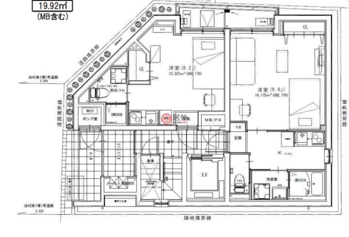 日本Tōkyō-toShinjuku-ku的商业地产,349-10,编号57299170