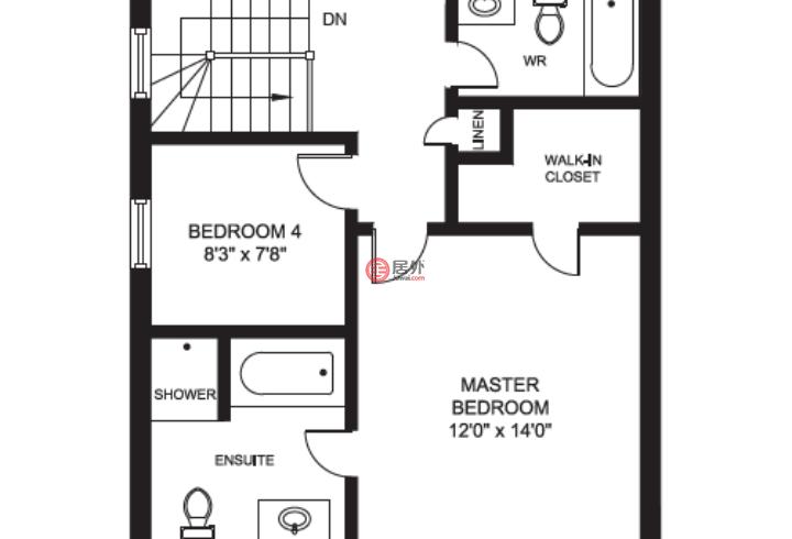 加拿大安大略省密西沙加的房产,3448 Covent Cres ,编号47580219