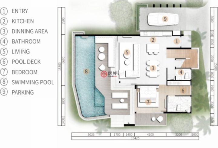 泰国普吉府普吉的房产,Rawai,编号48346744