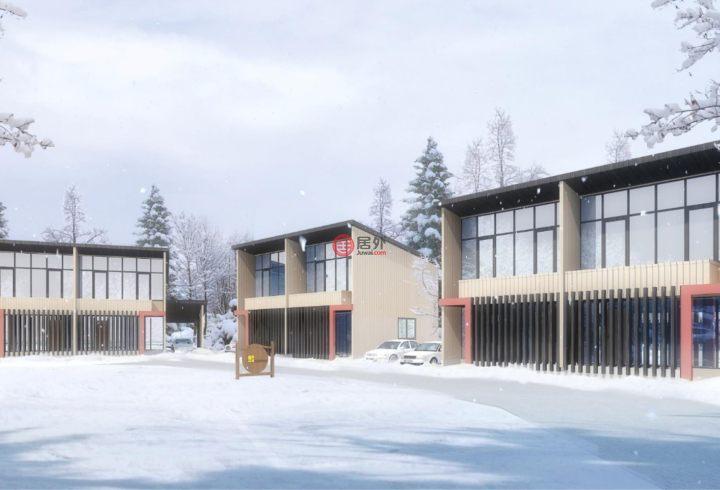 日本长野长野市的新建房产,北安曇郡白馬村大字神城字天神原22242番2、22246番5、22263番,编号53228943
