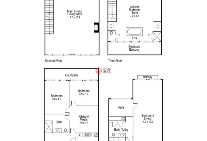 澳大利亚维多利亚州South Yarra的房产,5 Oxford Street,编号47147180