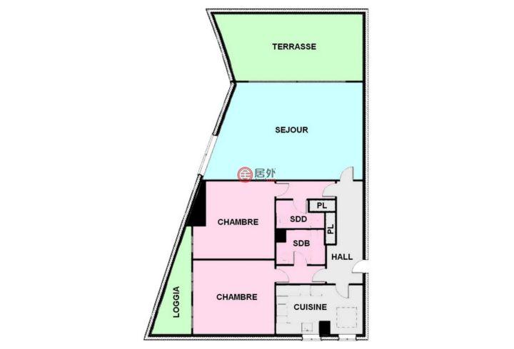 摩纳哥摩納哥城的房产,编号25165021